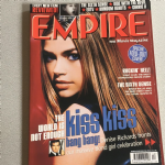 Empire Magazine December 1999 issue 126 Kiss Kiss